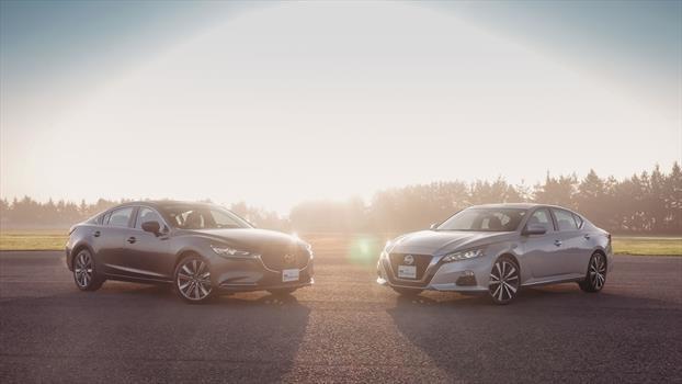 Nissan Altima 2019 vs Mazda6 2019