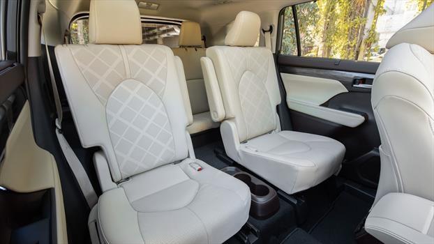 Toyota Highlander 2020 - interior asientos