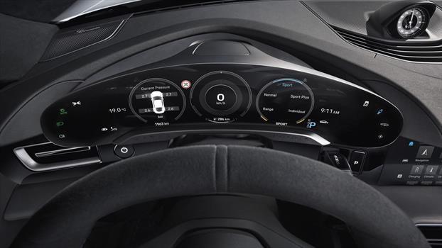 Porsche Taycan - Pantalla 16.8 pulgadas