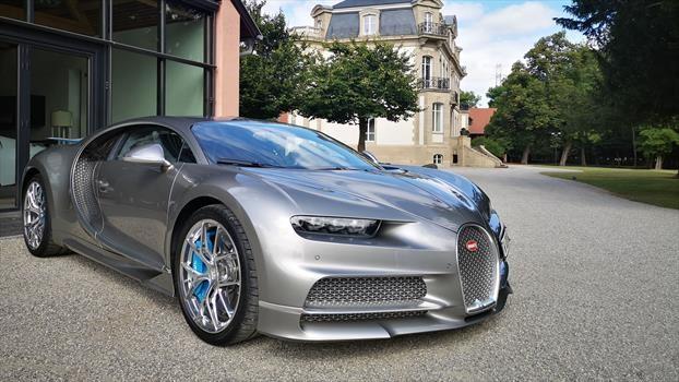 Bugatti Chiron Sport - frente