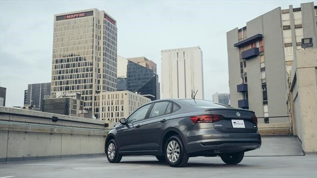 Volkswagen Virtus 2020 trasera