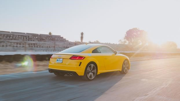 Audi TTS 2020 - trasera