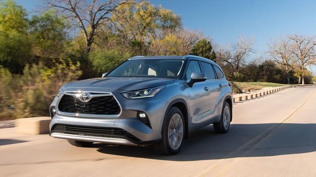 Toyota Highlander 2020 - frente
